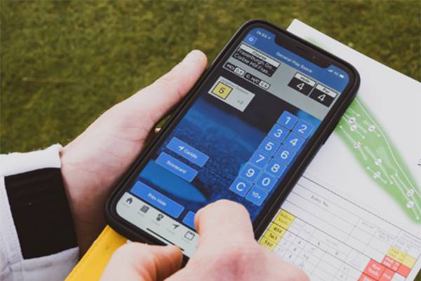 Scottish golf app
